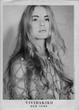 Agata Najsznerska modeling Tokyo 1991