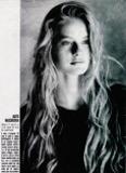 Agata Najsznerska modelig Mediolan 19897